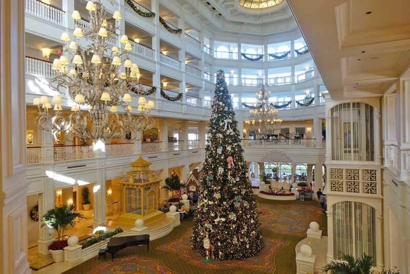 disney world resort christmas decorations disneys grand floridian resort spa - When Does Disneyworld Decorate For Christmas