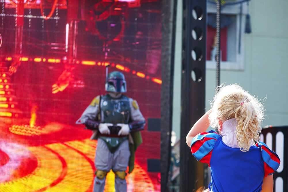 Hollywood Studios Shows - Star Wars: A Galaxy Far, Far Away