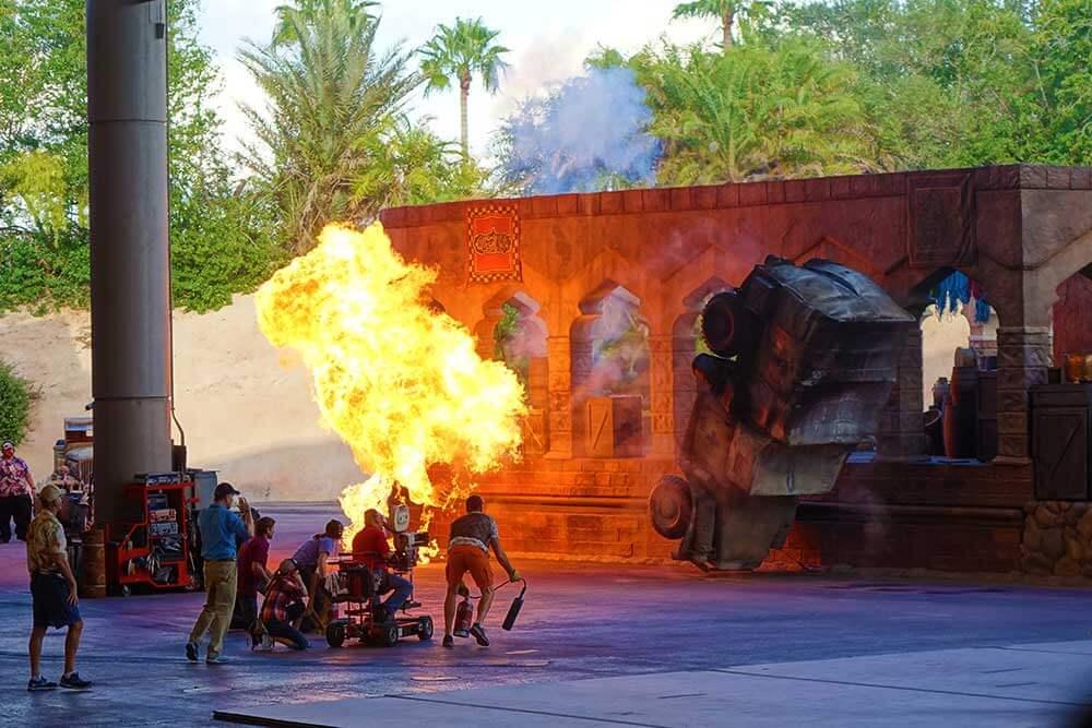 Disney's Hollywood Studios Shows - Indiana Jones Epic Stunt Spectacular