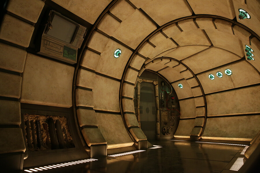 Disney Gives Look Inside Millennium Falcon Ride