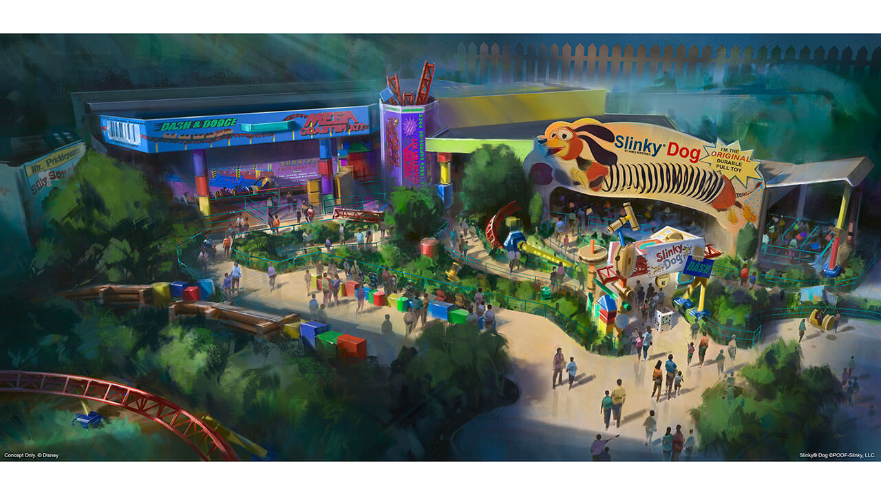 Toy Story Land - What's Coming to Disney World and Universal in 2018 and Beyond