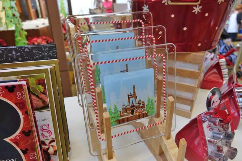 Disney World Resort Christmas Decorations - Disney's Contemporary Resort Christmas Merchandise