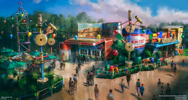 Toy Story Land to Open at Disney World in Summer 2018