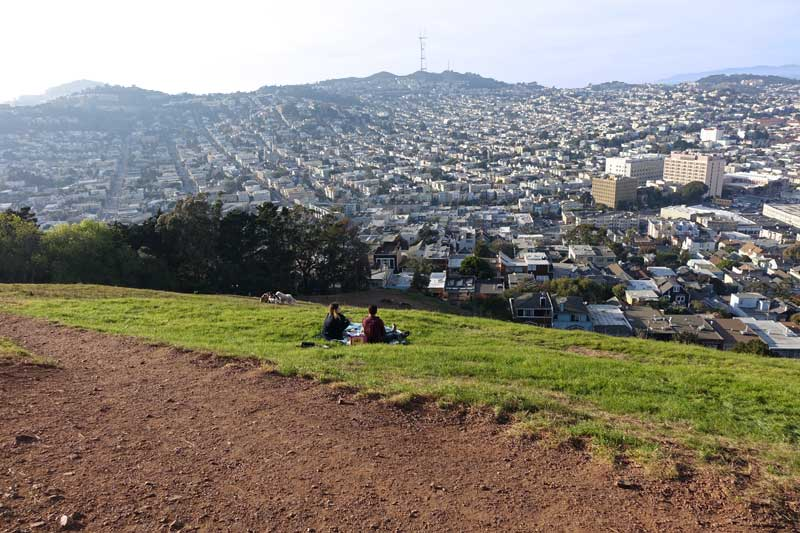 Tips for Visiting San Francisco with Kids - Bernal Heights Park