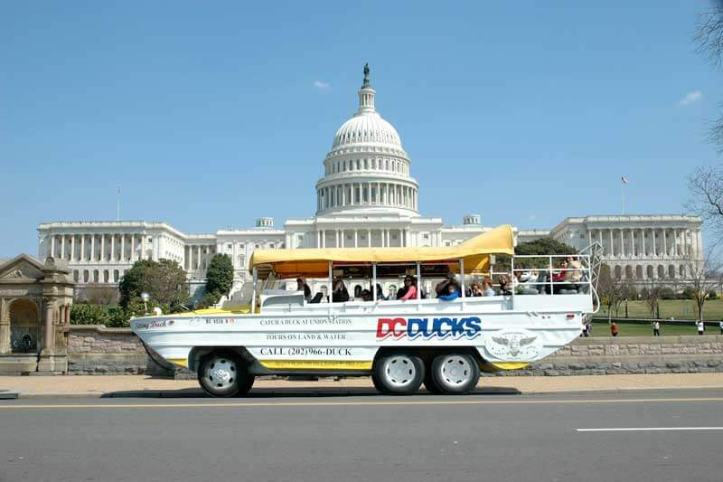 Tips for Visiting Washington DC with Kids - Duck Tour