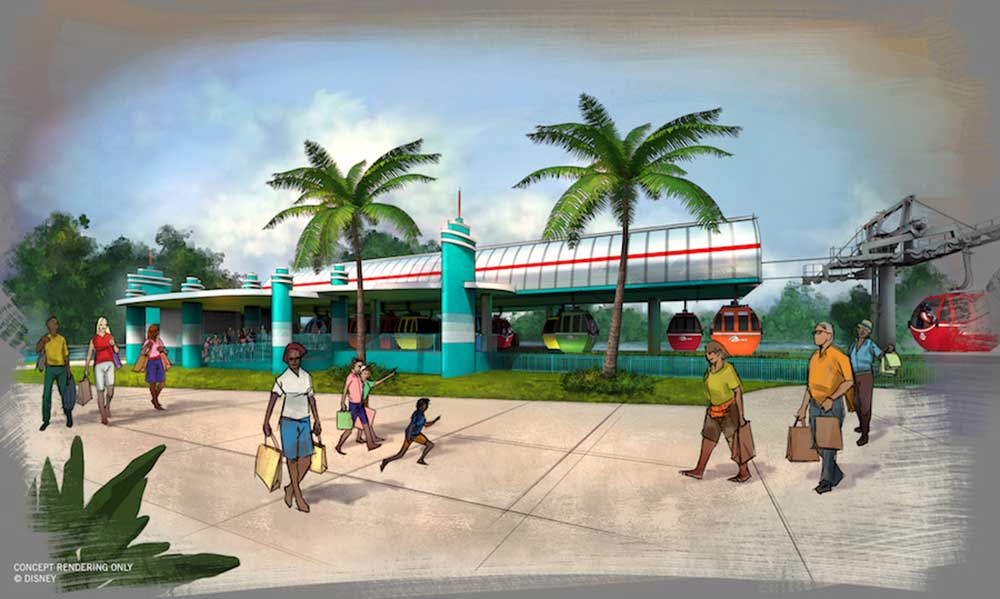Disney Skyliner Transportation System - Hollywood Studios Station