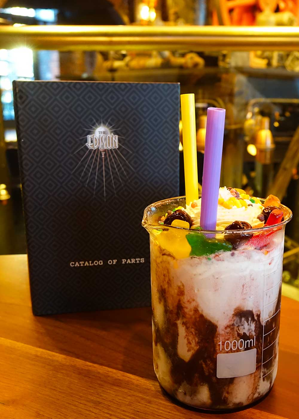 The Edison at Disney Springs - Black Cherry Cream