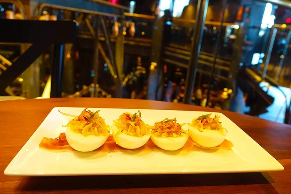 The Edison at Disney Springs - Deviled Eggs