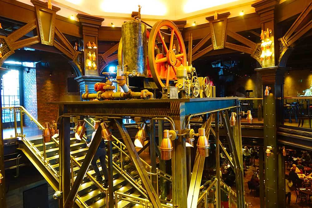 The Edison at Disney Springs - Machinery Decor