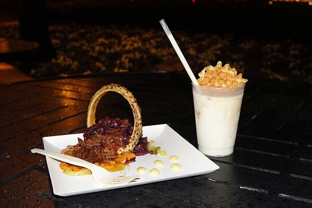 Epcot International Festival of the Arts - Deconstructed Food
