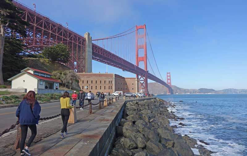 Tips for Visiting San Francisco with Kids - Golden Gate Bridge