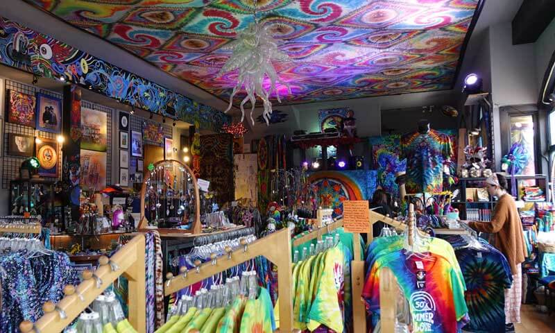 Tips for Visiting San Francisco with Kids - Funky Shop in Haight-Ashbury