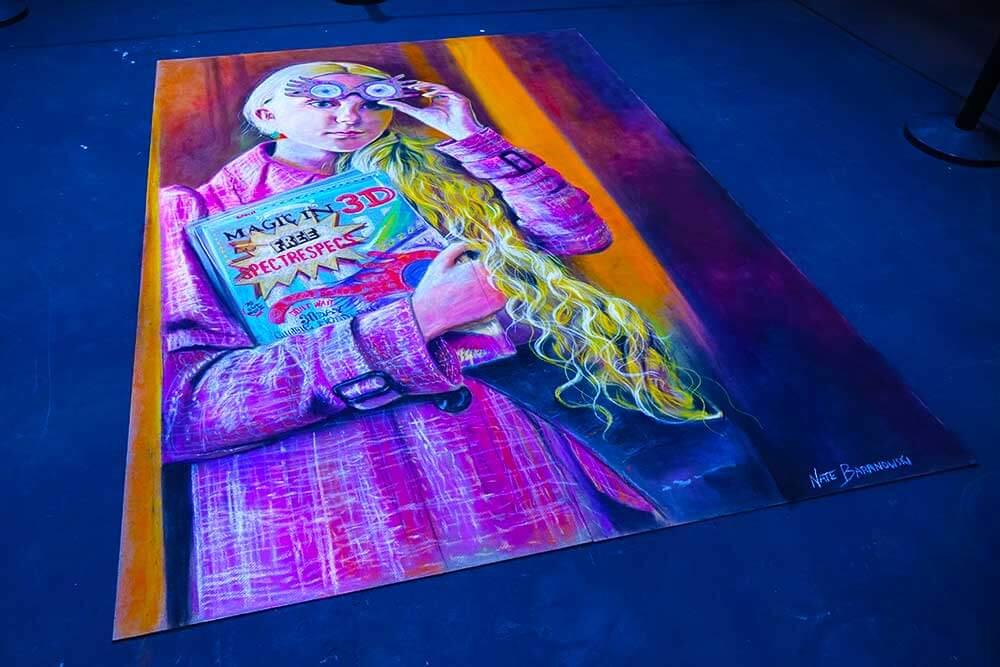 A Celebration of Harry Potter - Chalk Art