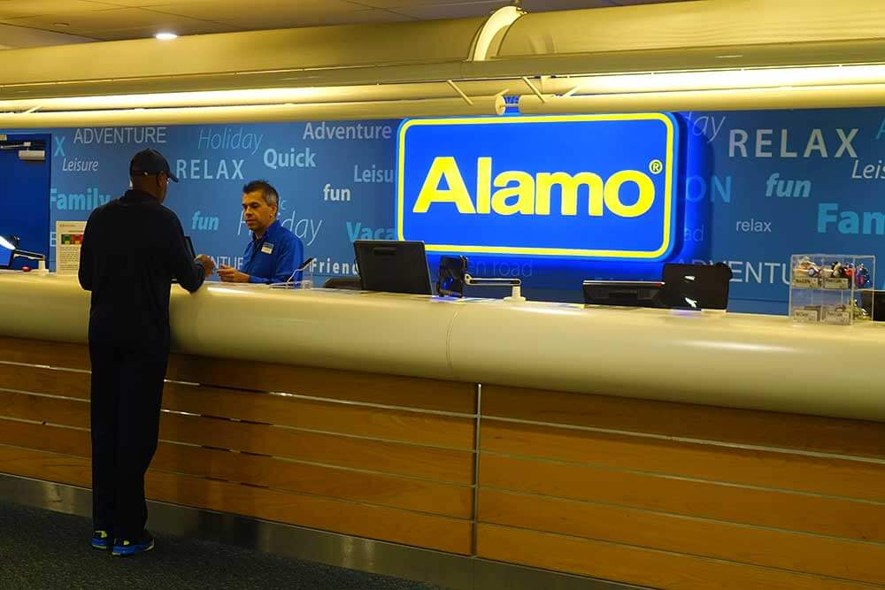 Alamo Car Drop Off Orlando International Airport