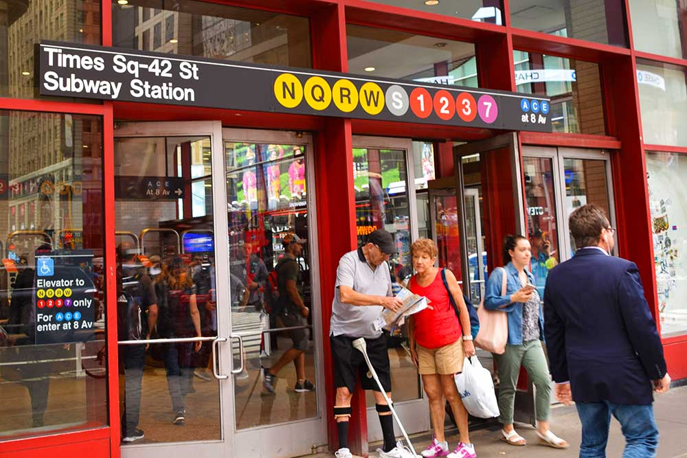 Visiting NYC with Kids - Subway