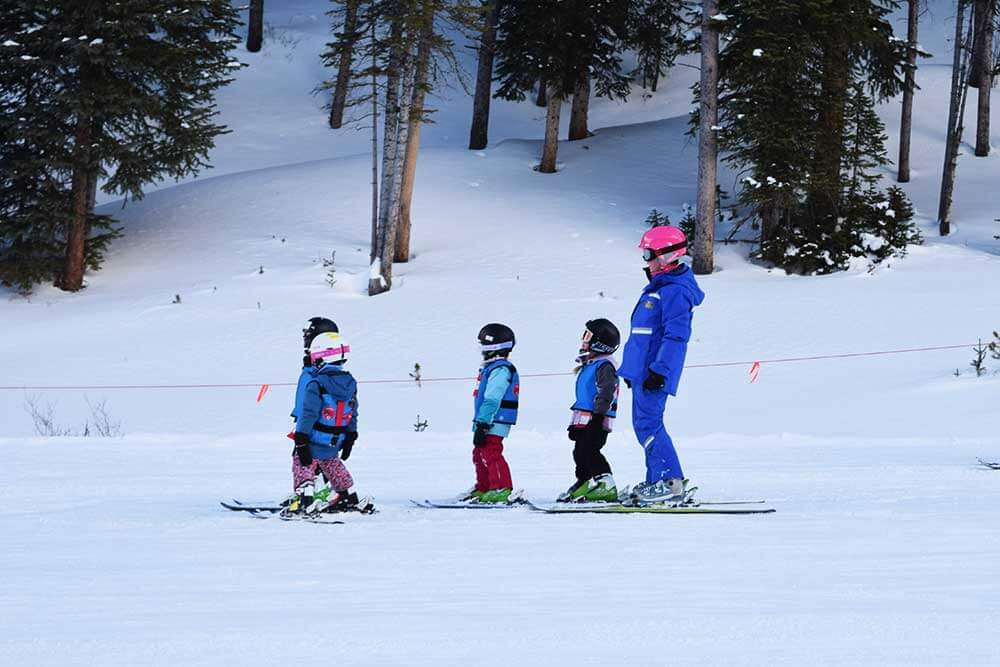 Skiing During Peak Times - Lessons