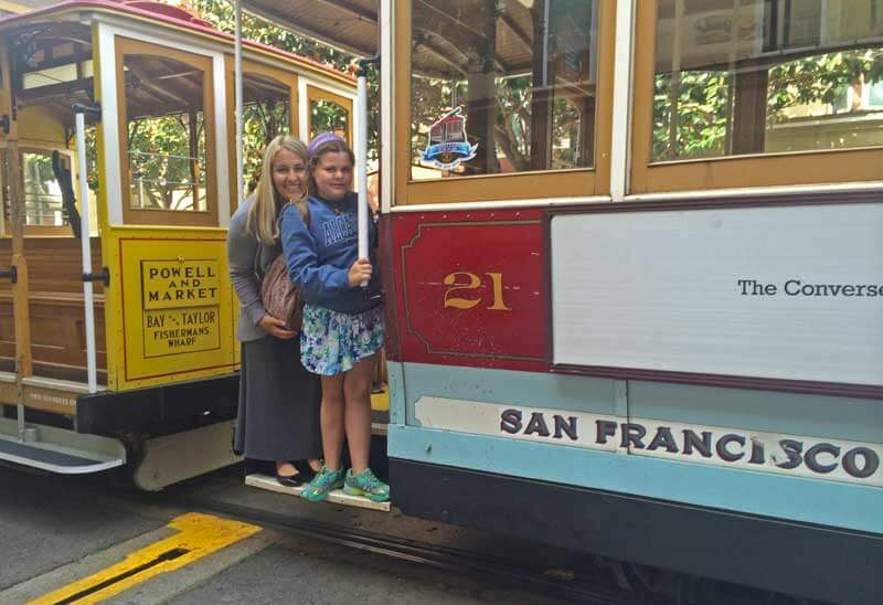 Tips for Visiting San Francisco with Kids - Trolley Bus