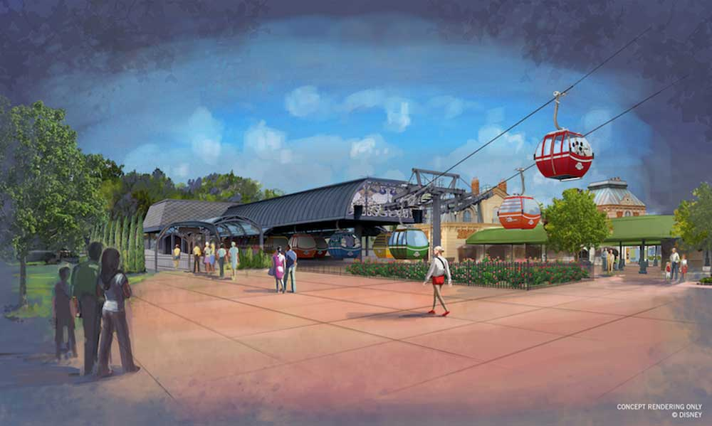 Disney Skyliner Transportation System - International Gateway Station