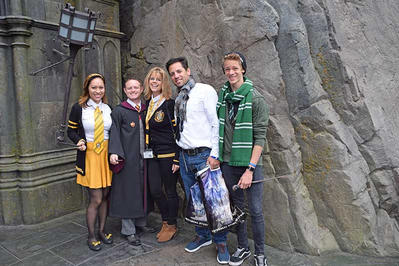 Best Theme Parks in California by Age Group - Adults at the Wizarding World