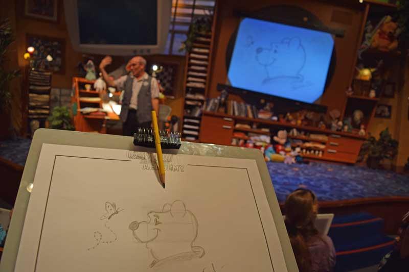 Multi-Generational Trip to Disneyland - Animation Academy