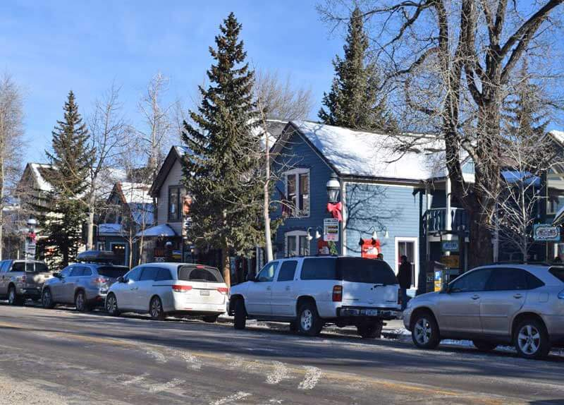 Breckenridge Colorado Parking and Transportation