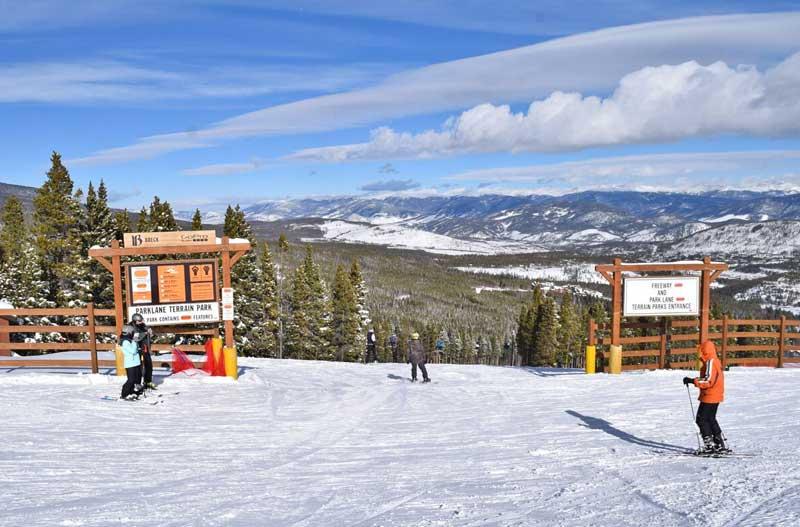Breckenridge Colorado Ski Terrain Park