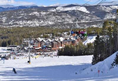 I migliori stazioni sciistiche in Colorado per le famiglie - Breckenridge Colorado Ski Area