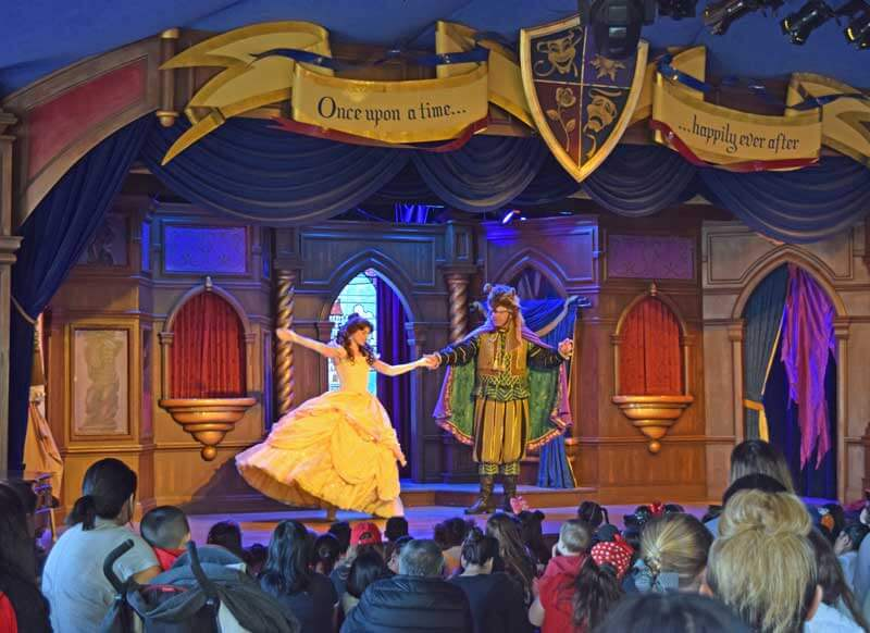 Multi-Generational Trip to Disneyland - Beauty and the Beast