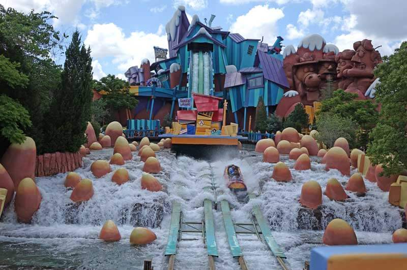 Height Requirements at Universal Orlando Resort - Universal Florida - Dudley DoRight's Ripsaw Falls