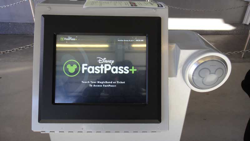 Disney World FastPass Plus Tips - FastPass+ Kiosk