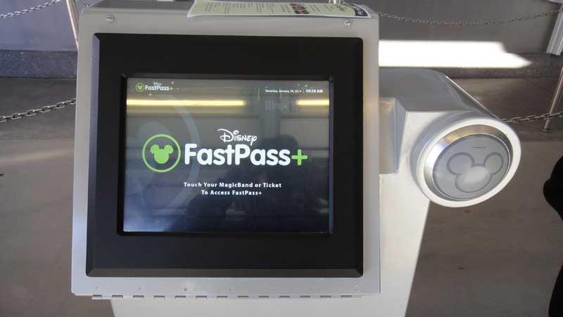 FastPass+ Tips - FastPass+ Kiosk