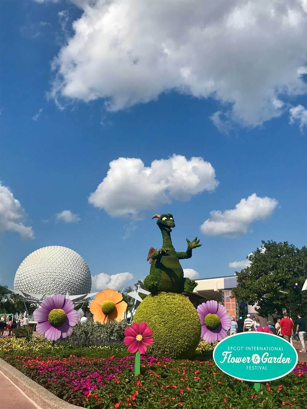 Epcot Flower and Garden 2018 - Figment