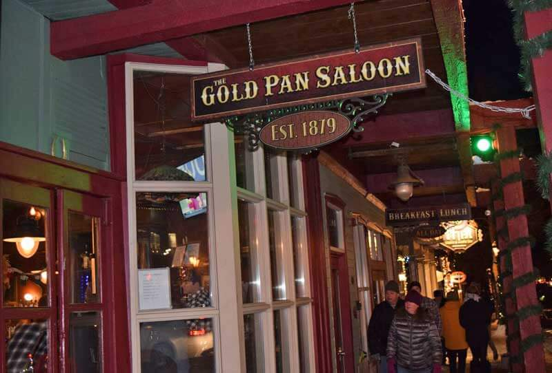 Breckenridge Colorado Ski Area - Gold Pan Saloon