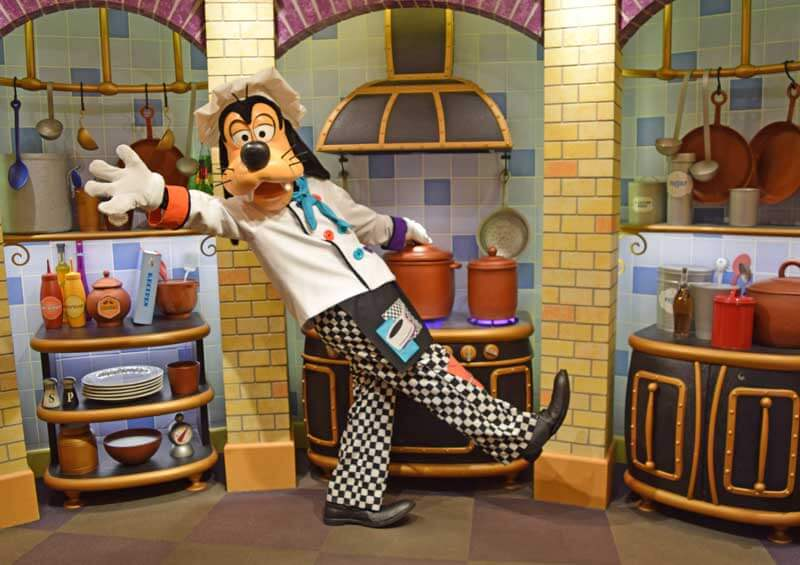 Disneyland Character Dining - Goofy's Kitchen