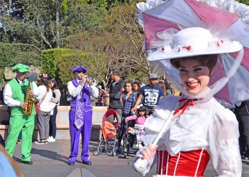 Multi-Generational Trip to Disneyland - Mary Poppins and Pearly Band