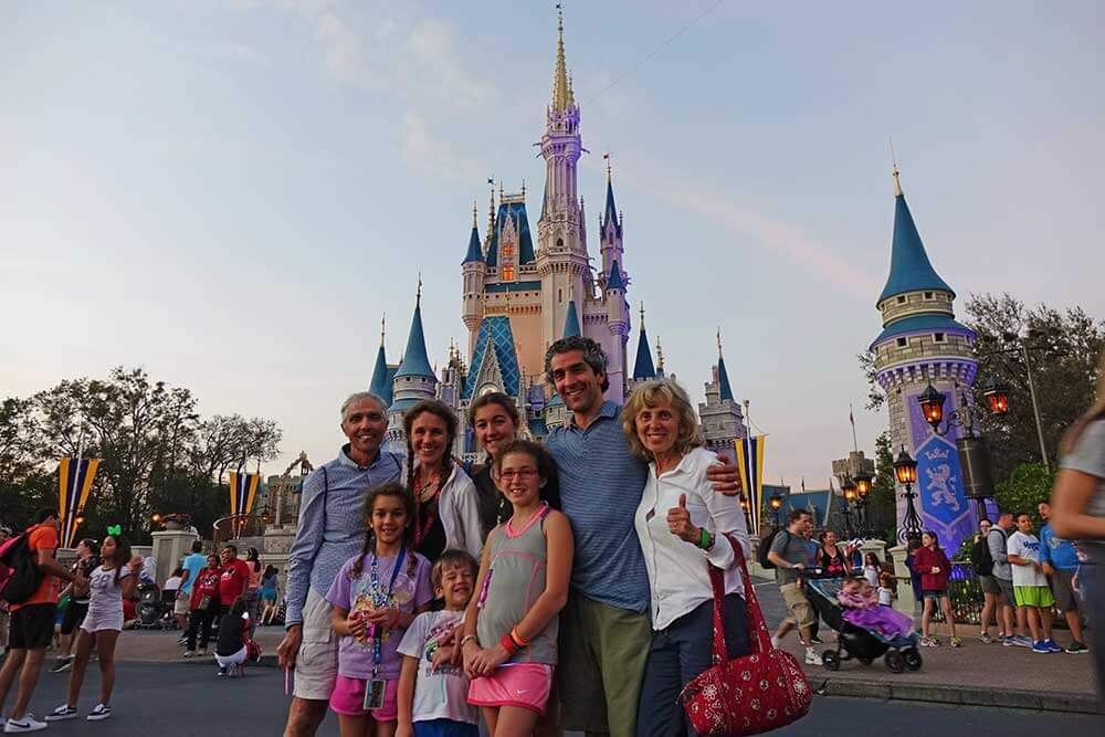 Multigenerational Trip to Disney World - Cinderella's Castle