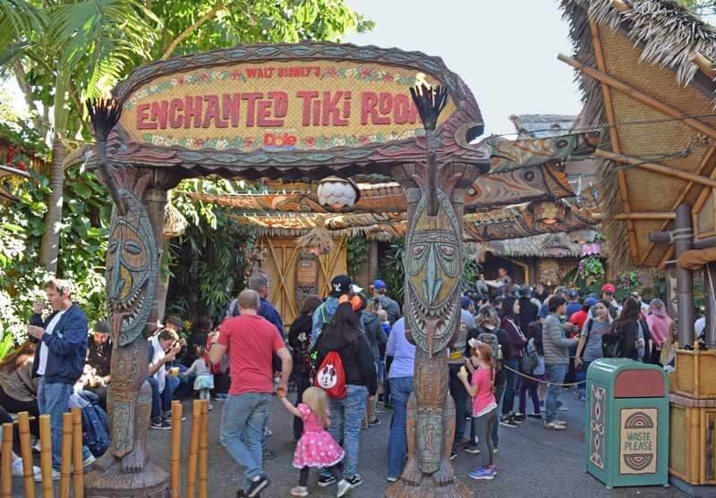 Multi-Generational Trip to Disneyland - the Enchanted Tiki Room