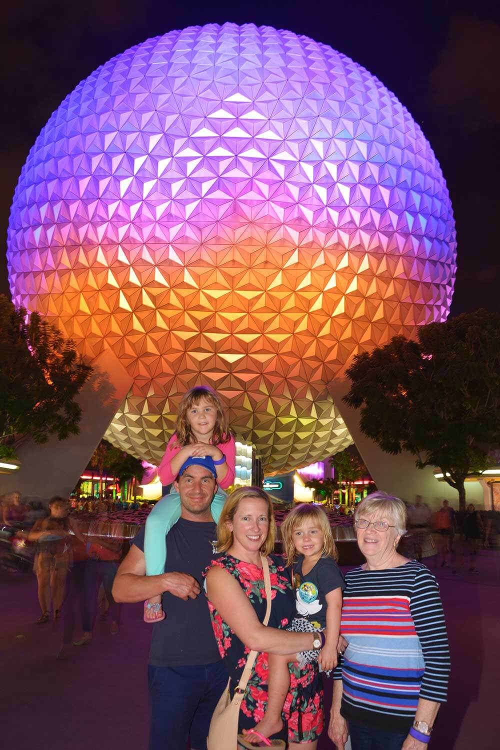 Multigenerational Trip to Disney World - Epcot