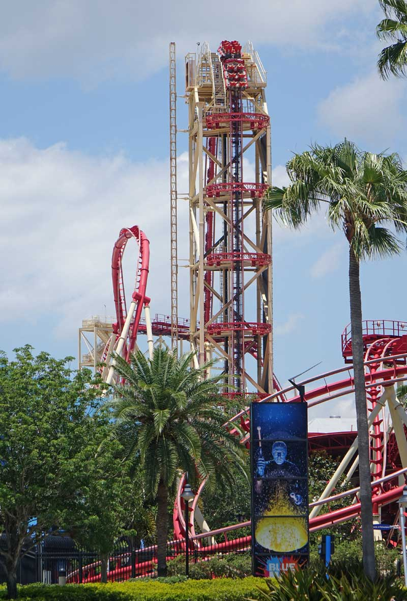 Height Requirements at Universal Orlando Resort - Universal Florida - Hollywood Rip Ride Rocket