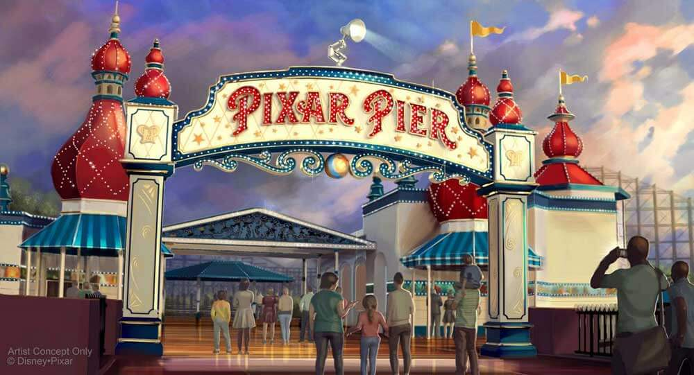 Lamplight Lounge Coming to Disneyland's Pixar Pier