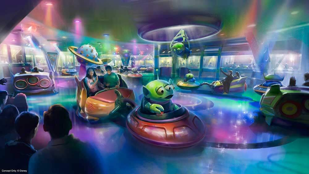Roundup - Alien Swirling Saucers