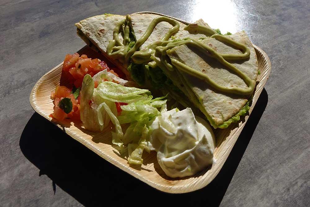 Seven Seas Food Festival - Vegan Quesadilla