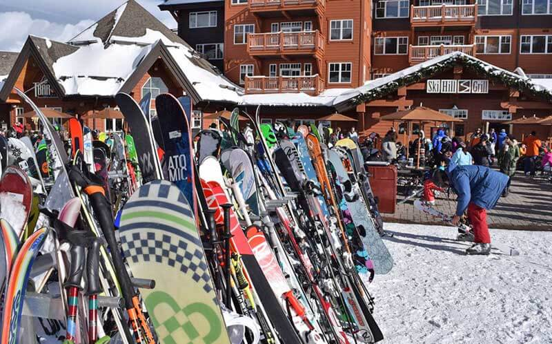 Breckenridge Colorado Ski Area - Ski Hill Grill