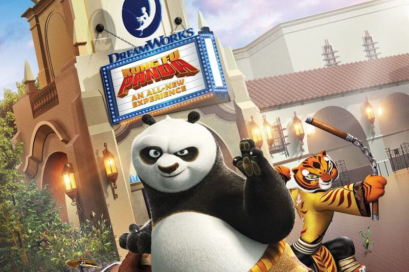 Kung Fu Panda Dreamworks Theatre - What Opened at Disneyland and Universal in 2018