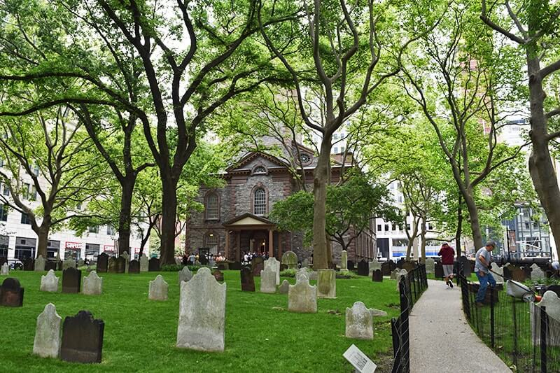 Top Things to Do in NYC with Kids - Churchyard Cemetery