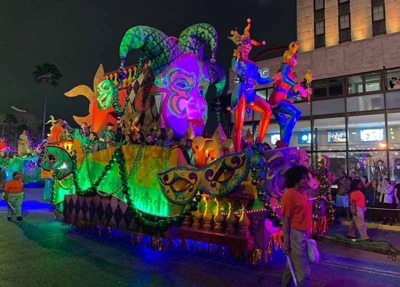 Universal Studios Mardi Gras Parade 2019