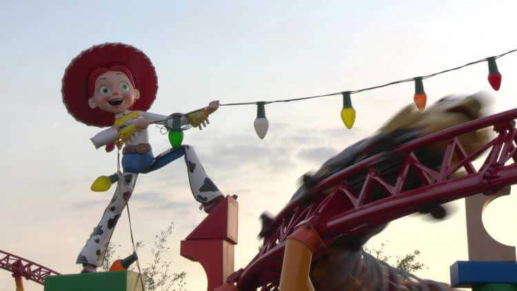 Toy Story Land Disney World - Toy Story Land Rides - Slinky Dog Dash