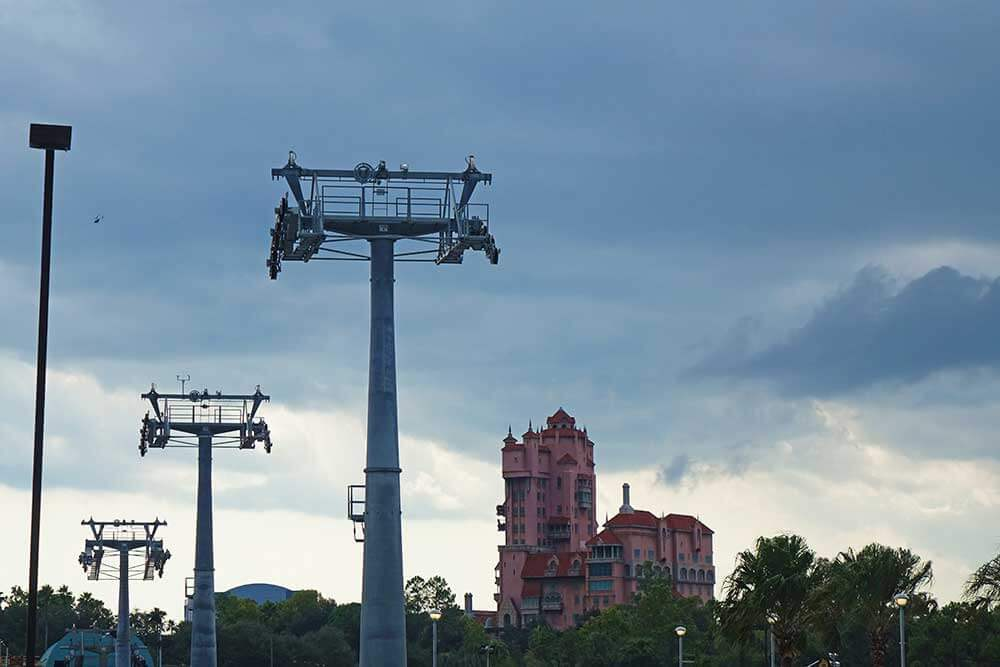 Hollywood Studios Complimentary Transportation - Tower of Terror