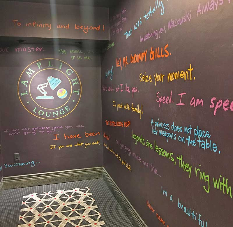Romantic Things To Do at Disneyland - Lamplight Lounge