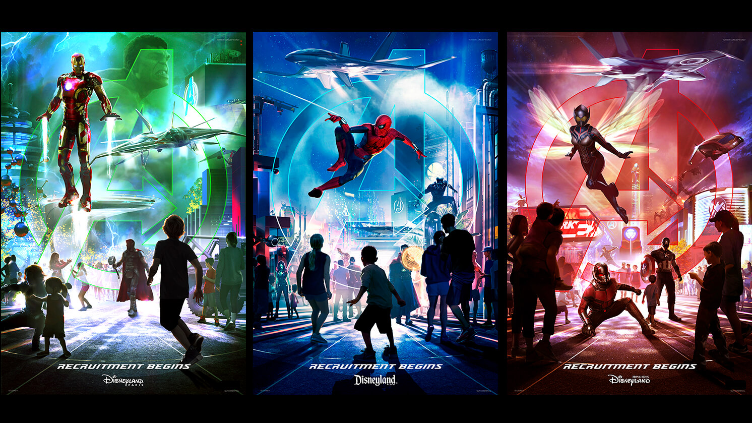 Disney California Adventure Lands a Marvel-Themed Land
